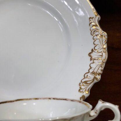 Copeland & Garrett tea service, setting for 6 with simple gilt, c. 1840 -33089