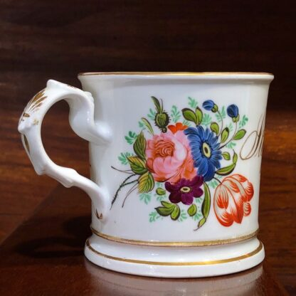 English porcelain presentation mug - Stephen Dickins, 1852 -33003
