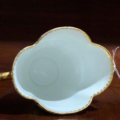 Helena Wolfson Dresden chocolate cup & saucer, Meissen style, c. 1880-33431
