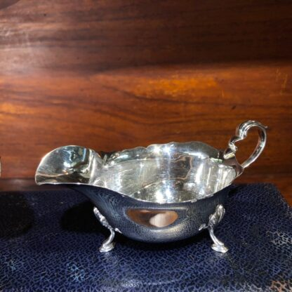 Pair of Sterling Silver sauce boats, London 1936, for Drummond, Melbourne-33068