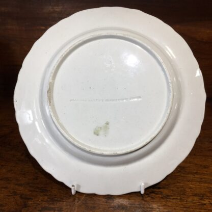 Masons ironstone plate, delicate Chinese Export flowers, c.1820 -33133