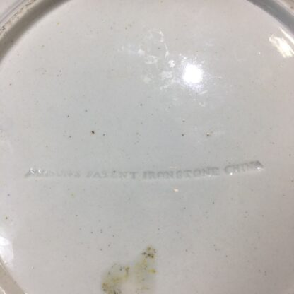 Masons ironstone plate, delicate Chinese Export flowers, c.1820 -33137