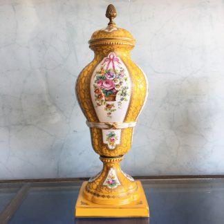 Large 'Sevres Style' vase, Porcelain de Paris, circa 1900-0