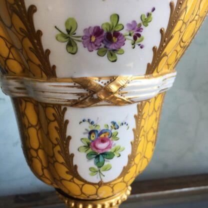 Large 'Sevres Style' vase, Porcelain de Paris, circa 1900-33400