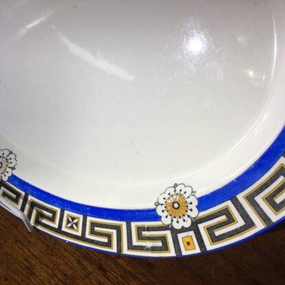 Minton serving platter, greek key & daisy pattern, 1881 -33845