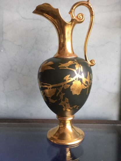 Large pottery ewer by Forester's, c.1885 -0