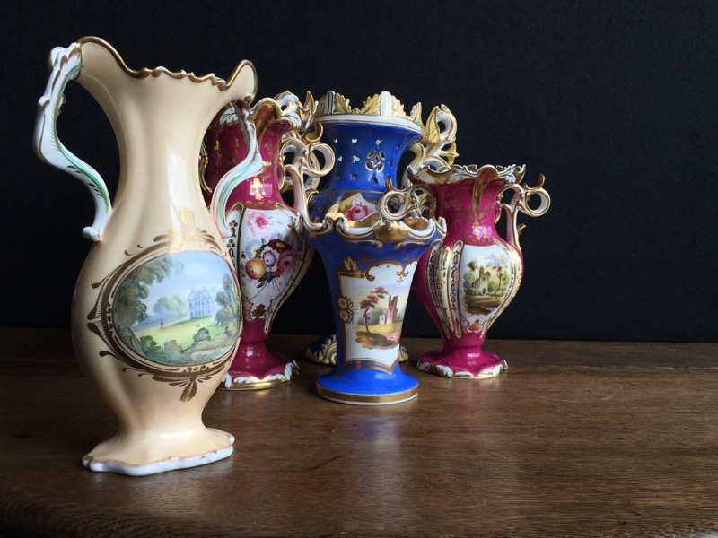 Samuel Alcock vases
