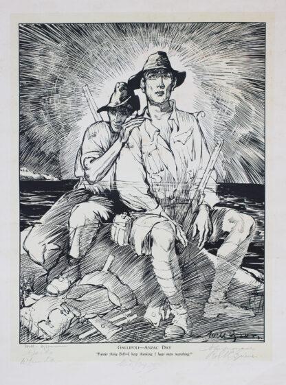 Dyson Anzac Print 1927