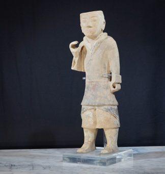 Han Dynasty Pottery Archer 200 bc