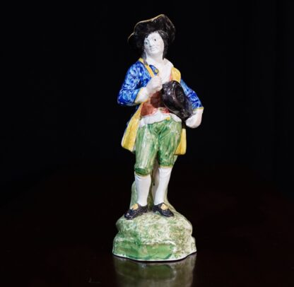 The Flemish Musician Staffordshire Pottery Ralph Wood