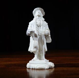 Minton Bisque Figure - Beggar c.1835