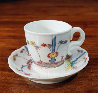 Saint Cloud cup & saucer 1735