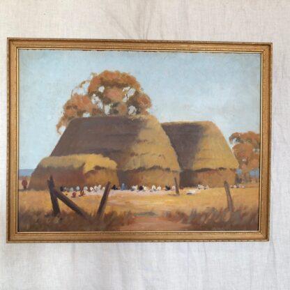John C. Aisbett (1896-1964) Oil Painting