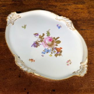 Meissen tray, circa 1870