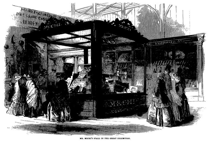 The Mechi stand, Great Exhibition 1851