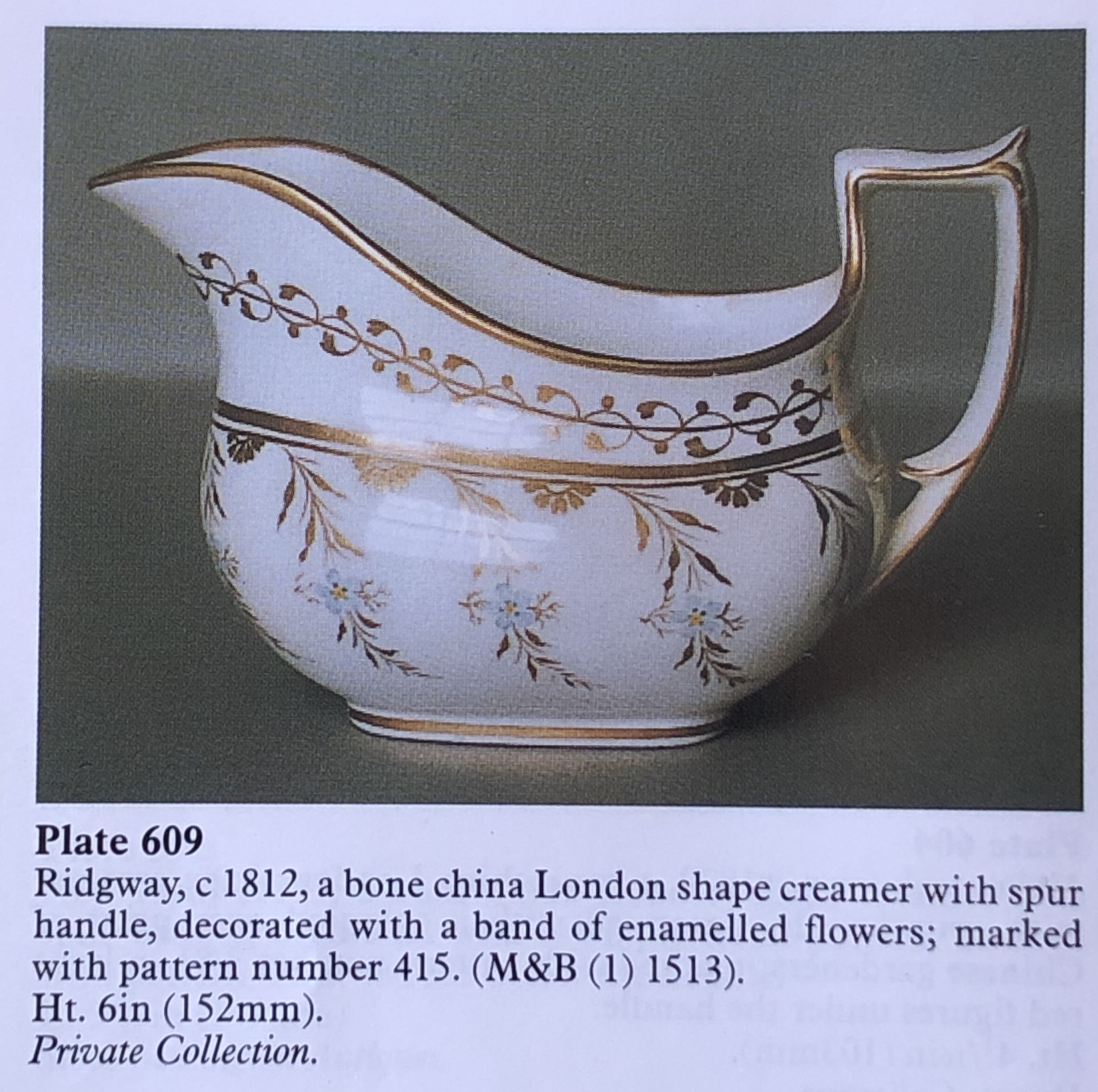 Ridgway jug c.1820