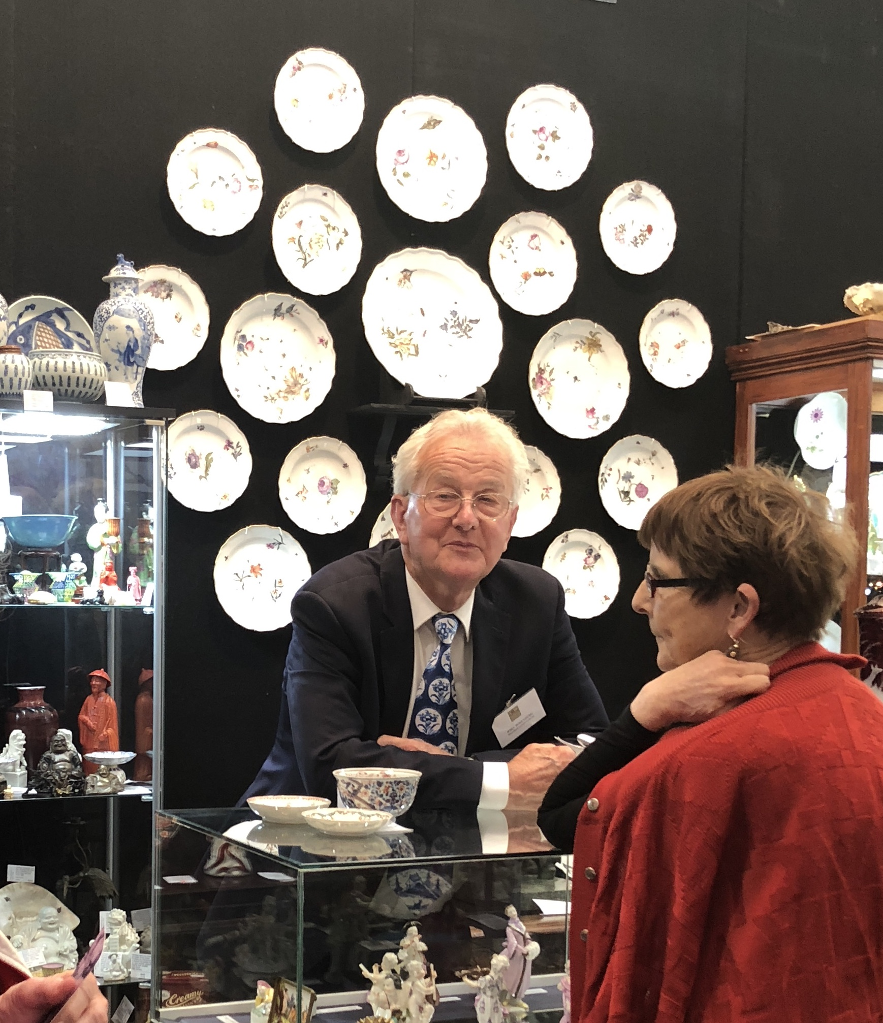 John Rosenberg at the last AAADA Fair in Melbourne (2018)