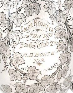 Booth's 1879 Colac Regatta Prize