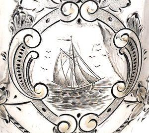 Yacht 1879 Colac Regatta Prize