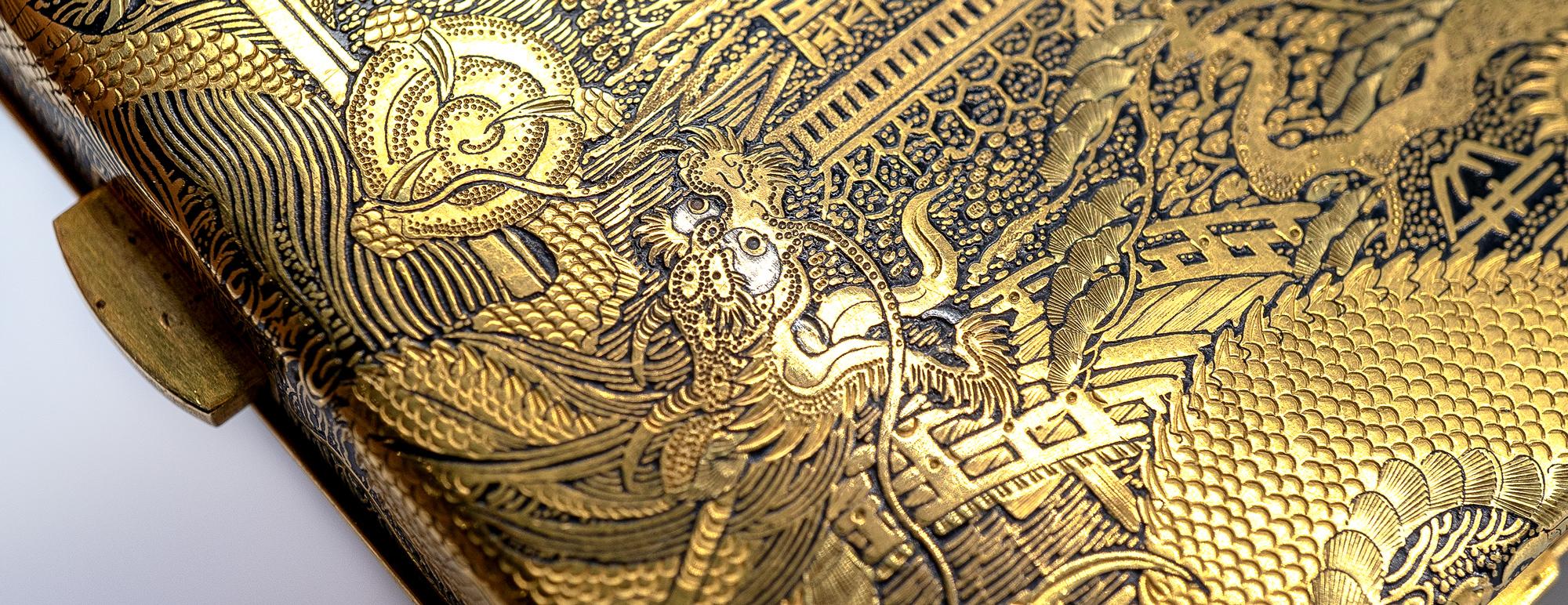 Superb Dragons by Fujii Yoshitoyo